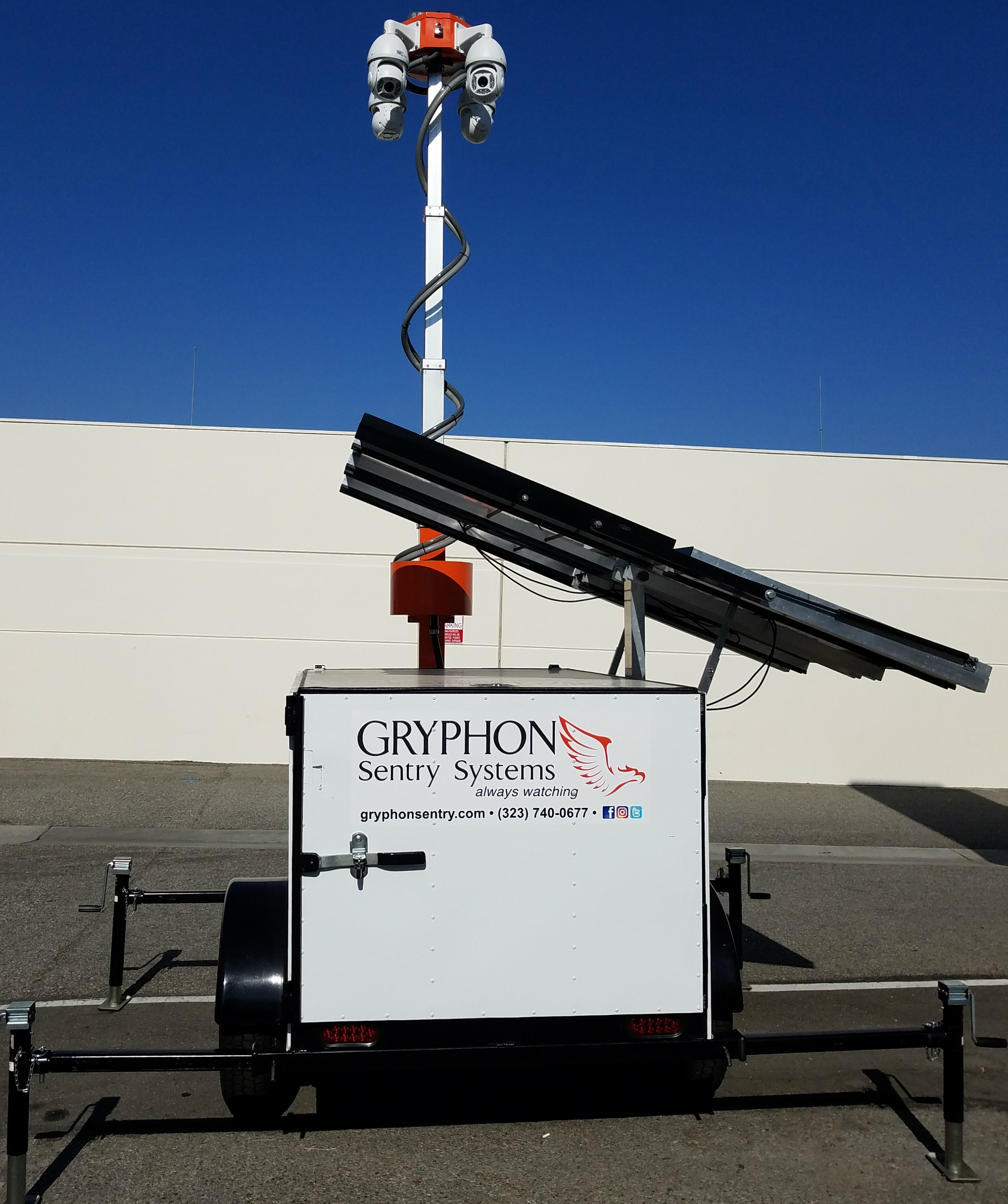 Gryphon Sentry Movable Security System